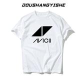 百大DJ 電音avicii 艾維奇 A神短袖 t恤 電音節男女歐美夜店衣服 麗人印象 免運