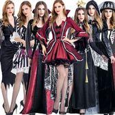 萬圣節角色扮演吸血鬼服裝 吸血鬼伯爵cosplay男女成人裝