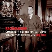 【停看聽音響唱片】【SACD】拉赫曼尼諾夫:交響曲與管弦樂全集 水藍 指揮 新加坡交響樂團