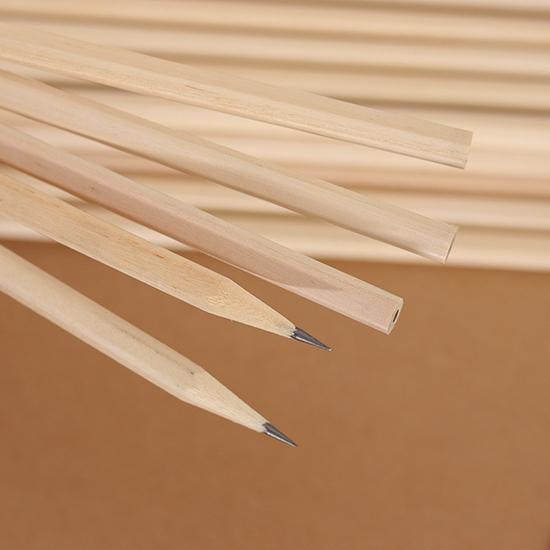 鉛筆 木頭鉛筆 原木 可削式 三角 六角 學生 文具用品 繪畫 素描 學齡前 HB原木鉛筆 【Z117】MY COLOR