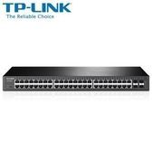 ◤全新品 含稅 免運費◢ TP-LINK JetStream 48埠Gigabit智慧型交換器具4個SFP插槽 ( T1600G-52TS (TL-SG2452) )