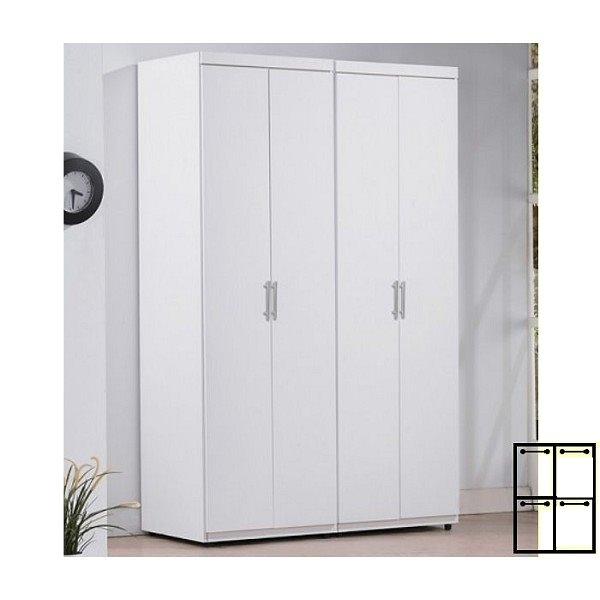 衣櫃 衣櫥 SB-567-44 亞斯4尺白色組合衣櫃 【大眾家居舘】
