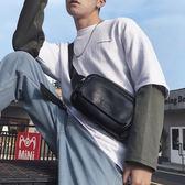 腰包 時尚男女士小胸包 正韓新款皮質胸包腰包 休閒戶外運動騎行挎包潮