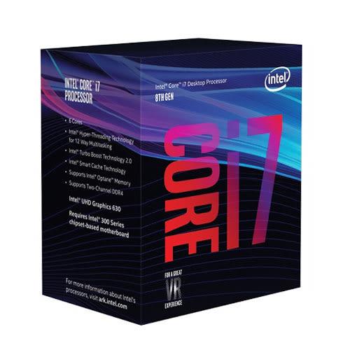 Intel 英特爾 CORE i7-8700 12M 3.20GHz 處理器~特殊商品拆封恕不退貨!~