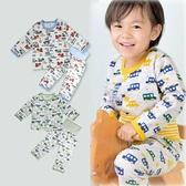 寶寶空氣棉保暖睡衣【GC0014】日本正品 三層棉寶寶長袖上衣+護肚長褲 二件套裝 護肚褲 童裝