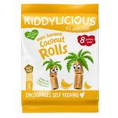 Kiddylicous 童之味 迷你香蕉椰子卷 (12個月以上)