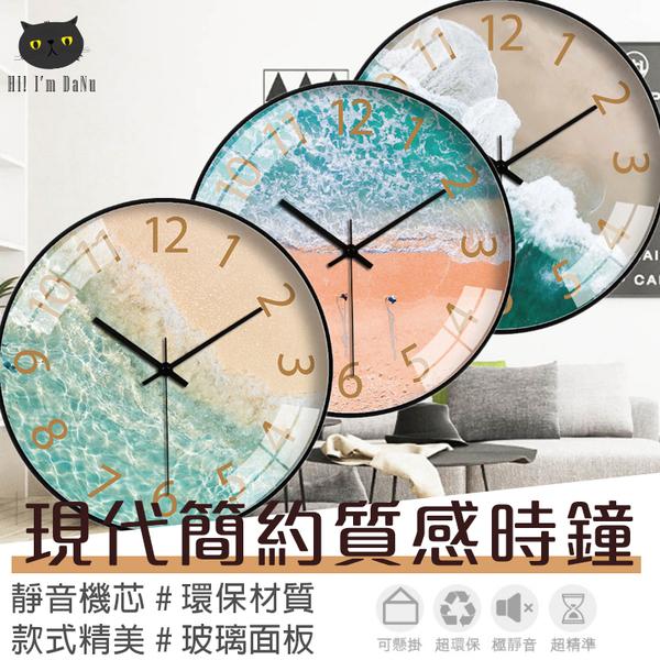 大鐘面 現代感 靜音時鐘 居家裝飾 壁鐘 時鐘掛鐘 數字鐘 客廳掛鐘 壁掛時鐘【Z91115】