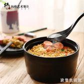 泡面碗帶蓋 日式大號家用碗筷套裝學生宿舍易清洗面碗 zh5809 【美好時光】