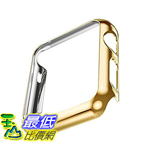 [105美國直購] 蘋果錶殼 Tomplus Ultra-Thin Newest Apple Watch PC Plated Cover Case Slim Premium Super B018XX8P1Q
