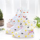 現貨-雨鞋套 韓國小清新鞋套防水雨天防滑加厚耐磨防滑雨鞋套下雨防雨雪鞋套