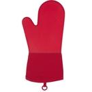 OXO 矽膠隔熱手套1支-紅/灰 (耐熱220度)
