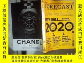 二手書博民逛書店The罕見forecast issue 10 2020 2020年第10期預測Y180897