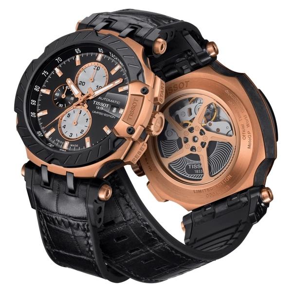 天梭TISSOT 2019 T-Race MOTOGP限量賽車計時腕錶(T1154273705100)/45mm