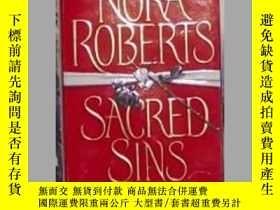 二手書博民逛書店英文原版罕見Sacred Sins by Nora Robert