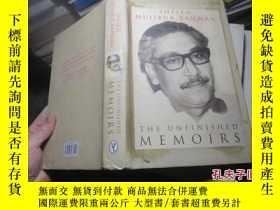 二手書博民逛書店the罕見unfinished memoirs 精 211619