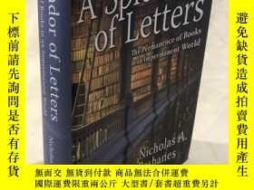 二手書博民逛書店A罕見Splendor of Letters(巴斯貝恩《字字珠璣