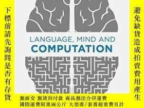 二手書博民逛書店【罕見】2014年 Language Mind And Comp