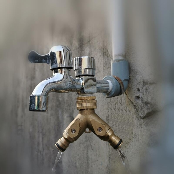 【JIS】N021 全銅 一分二分流器 分水器 Y型接頭 快速接頭 奶嘴頭 二通 三通分流器 洗衣機 水槍