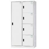 【時尚屋】DJ多用鋼製辦公置物櫃(17-6)綠色
