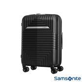 Samsonite新秀麗 20吋D200 幾何圖形可擴充硬殼登機箱(黑)