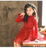 兒童秋裝 女童連衣裙新款時尚洋氣公主裙韓版女寶寶女孩 df2908【潘小丫女鞋】
