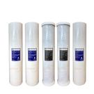 (共5支)CLEAN PURE 台灣製造 20英吋大胖5微米PP濾心2支 壓縮活性碳濾心2支 1微米PP濾心1支全戶過濾