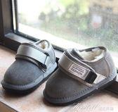 馬丁靴 男女寶寶雪地靴嬰兒學步鞋保暖棉鞋2歲幼兒軟底休閒鞋子  蜜拉貝爾