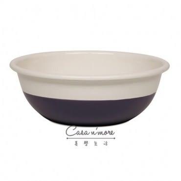 Riess 沙拉碗 琺瑯碗 湯碗 料裡缽18cm 奶酪遇見藍莓