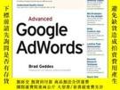 二手書博民逛書店Advanced罕見Google AdwordsY256260 Brad Geddes Sybex 出版20