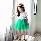新款女童春夏半身裙中大童兒童蓬蓬紗裙寶寶3-5歲公主短裙子 【店內再反618好康兩天】