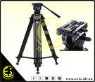 ES數位 百諾 BENRO KH-25N 攝像雙管腳架 360度旋轉 油壓阻尼 攝像機三腳架 三節式調整 雙管腳架 KH25N