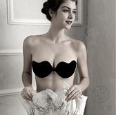 無肩帶內衣胸貼女婚紗用聚攏小胸加厚上托胸墊夏【小酒窩服飾】