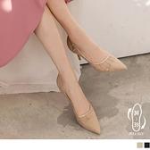 《SD0340》金蔥網紗仙女款高跟鞋/婚鞋 OrangeBear