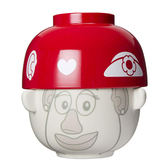 《sun-art》玩具總動員人物造型童用陶瓷碗附蓋 蛋頭太太_NR23442