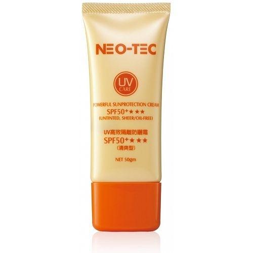 【妮傲絲翠NEO-TEC】UV高效隔離防曬霜SPF50+(清爽型) (50g x3)
