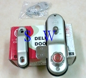647 青葉牌 鋁門鎖 700型鋁門鈎鎖 AT鑰匙(十字型鑰匙)三代 鎖心長38mm 鋁門平鎖 推拉門鎖