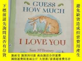 二手書博民逛書店Guess罕見How Much I Love You ..Y12