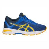 Asics GT-1000 6 GS [C740N-4504] 大童鞋 運動 慢跑 休閒 緩衝 透氣 舒適 亞瑟士 藍黃