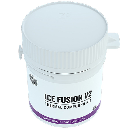 Cooler Master 酷碼 Ice Fusion V2 新酷媽涼膏 散熱膏 RG-ICF-CWR3-GP