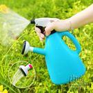 家用水壺澆花噴壺壓力噴水壺園藝工具小噴霧器氣壓式淋花澆水灑水CY 自由角落