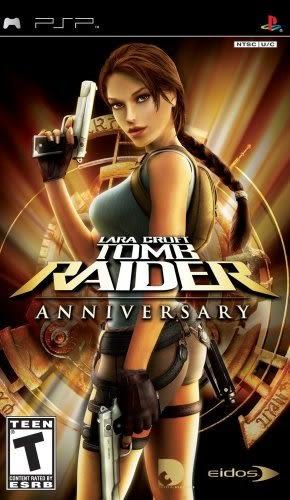 PSP Tomb Raider Anniversary 古墓奇兵:重返禁地(美版代購)