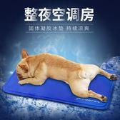 寵物冰墊狗狗涼席夏天睡覺的墊子狗用涼墊大型犬狗窩睡墊泰迪夏季FA【快速出貨超夯八折】