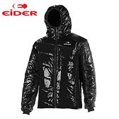 Eider 男 防風│抗雪│primaloft eco│連帽│保暖外套 EIT1208『黑』