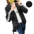 秋冬風衣外套女韓版修身百搭情侶夾克防風衣大碼學生班服 9號潮人館