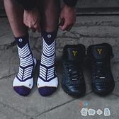 籃球襪子男中筒襪中幫實戰襪高筒球襪高幫夏季【奇趣小屋】