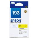 T193450 EPSON 原廠 (No.193) 標準型黃色墨水匣 適用 WF-2521/2531/2541(MFP)/2631/2651