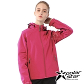 【PolarStar】女 Soft Shell保暖外套『桃紅』P20210 休閒 戶外 登山 吸濕排汗 冬季 保暖 禦寒