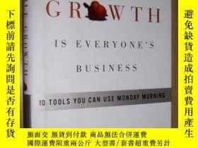 二手書博民逛書店原版罕見Profitable Growth Is Everyon