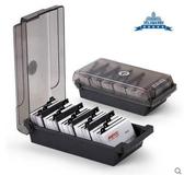 名片整理 大容量名片盒 名片收納盒 收納分類名片夾