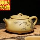 紫砂壺宜興茶壺-全手工精美刻繪泡茶小茶壺3款68v2【時尚巴黎】